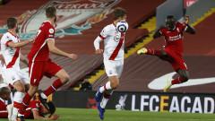 Ливърпул взе своето срещу Саутхемптън без да блести