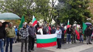 """В Ямбол отново протестираха срещу управлението и системата """"бонус-малус"""""""