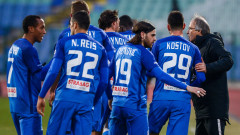 """Левски триумфира в още едно столично дерби, """"сините"""" с класическо 3:0 срещу Славия"""