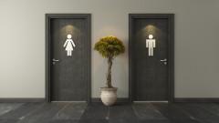 """Най-сигурният начин да си """"лепнем"""" бактерии в обществена тоалетна"""