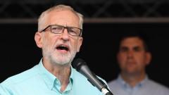 Корбин скочи: Планът на Борис Джонсън за парламента е заплаха за демокрацията