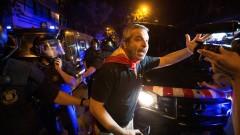 Трима пострадали при сблъсъци в Каталуния