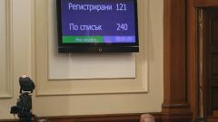 Две седмици предизборна ваканция за депутатите