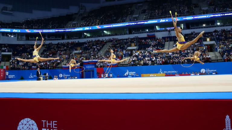 Президентът на Българската федерация по художествена гимнастика Илиана Раева и
