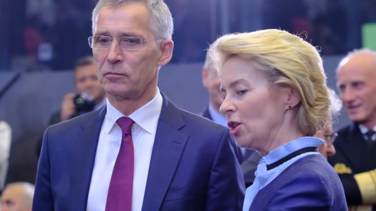 ЕС и НАТО приветстват Байдън: Отваряме нова глава в отношенията си
