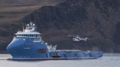 Откриха падналия до Норвегия руски хеликоптер