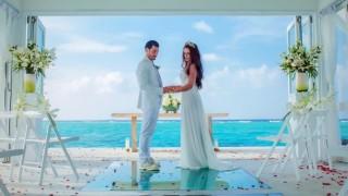 Звезда на Славия вдигна приказна сватба на Малдивите