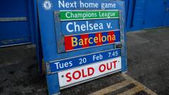 Продадоха билетите за Челси - Барселона