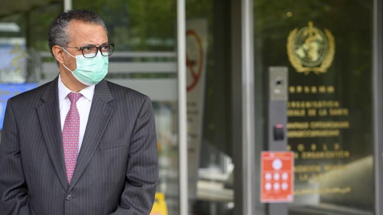 СЗО: Смъртността от коронавирус е нараснала с 21% през последната седмица