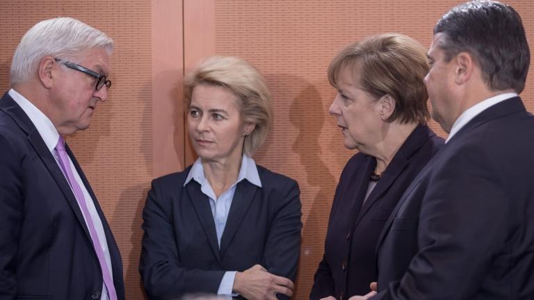 """Германия """"обяви война"""" на """"Ислямска държава"""""""