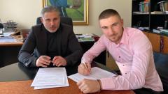 Левски поднови договора на един от най-обещаващите си таланти