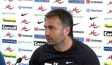 Ясен Петров: Искам да играем на ниво