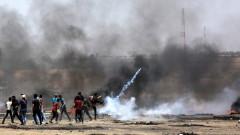 Четирима палестинци са убити и над 500 са ранени при сблъсъци на границата с Израел