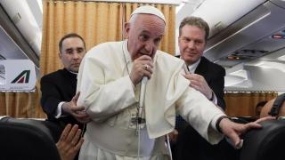 Папата призова към решаване на кризата във Венецуела