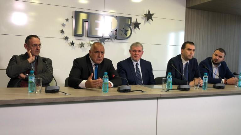 """СДС и """"Движение Гергьовден"""" сключиха политическа сделка пред Борисов"""