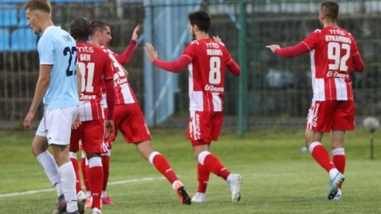 Отборът на Цървена звезда стана шампион на Сърбия за 31-и