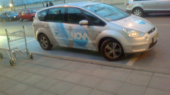 И автомобил на Нова ТВ на място за инвалиди