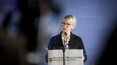Външният министър на Швеция подаде оставка