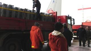 Изпратихме първия тир с минерална вода в помощ на Хърватия