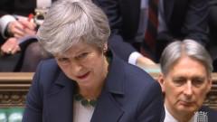 Мей: Тази вечер гласуваме предложение за изключване на Брекзит без сделка