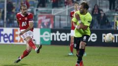 ЦСКА не вкара гол за първи път през сезона