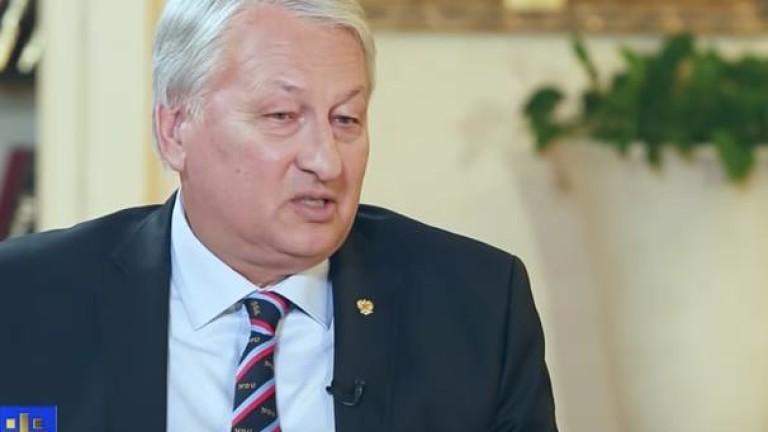 Руският общественик и бивш генерал от разузнаването Леонид Решетников, който