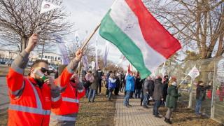 """Пореден протест в Унгария заради """"робския закон"""""""