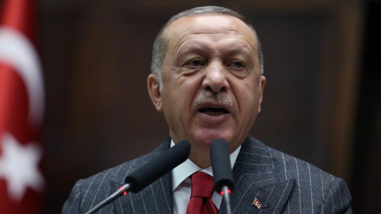 Ердоган подготвя операция в северна Сирия