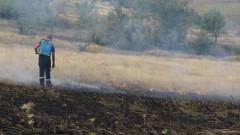 Пожар горя в благоевградското село Падеш
