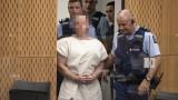Терористът Брентън Тарант застана пред съда