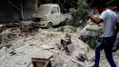 Алепо - десетки въздушни удари от руски самолети и авиацията на Асад