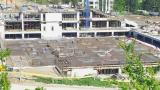 """Строителството на стадион """"Варна"""" върви по план"""