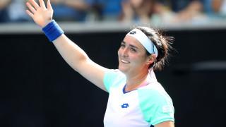 """Онс Джабюр е първата арабка на четвърфинал в турнир от """"Големия шлем"""""""