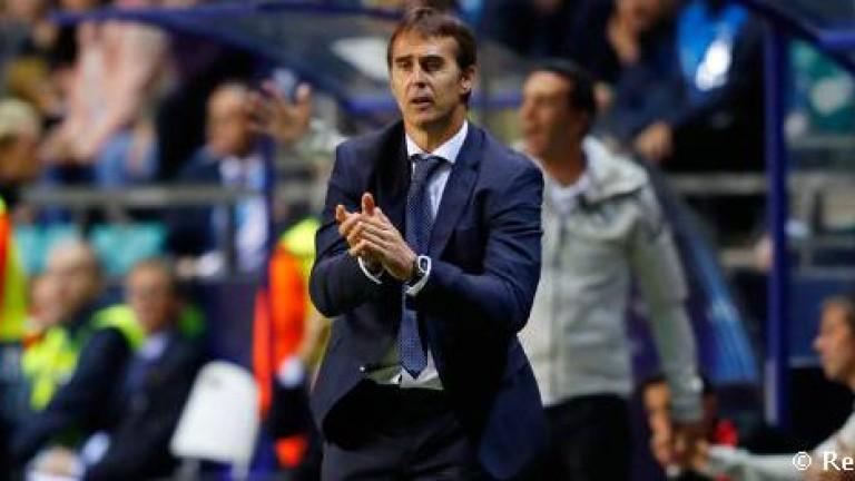 Треньорът на Реал (Мадрид) Хулен Лопетеги е поискал от ръководството