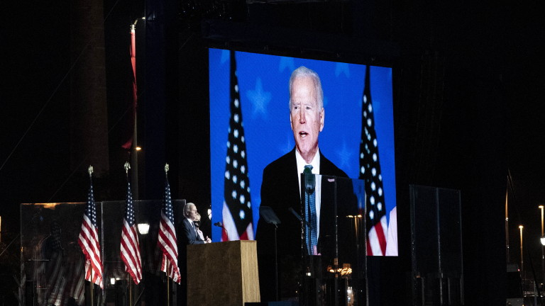 Новоизбраният президент на САЩ Джо Байдън призова във вторник Конгреса