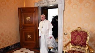 Папата смъмри отрицателите на климатичните промени