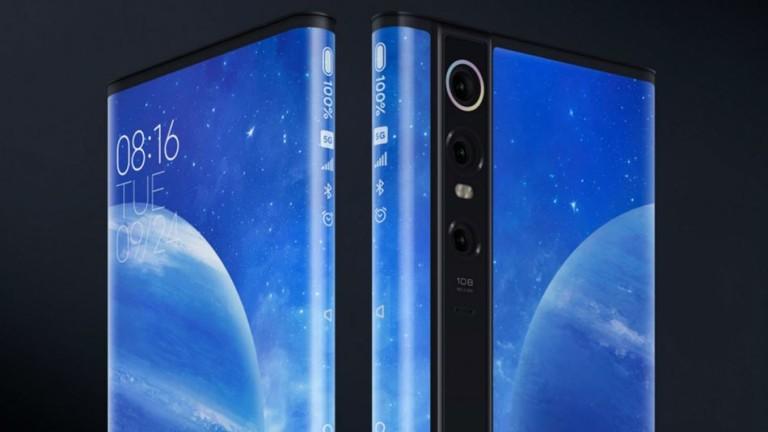 Xiaomi Mi Mix Alpha - невиждан смартфон, направен от… екран