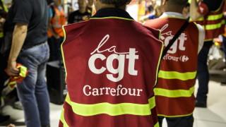 Стачка на работници в хранителни магазини в Белгия
