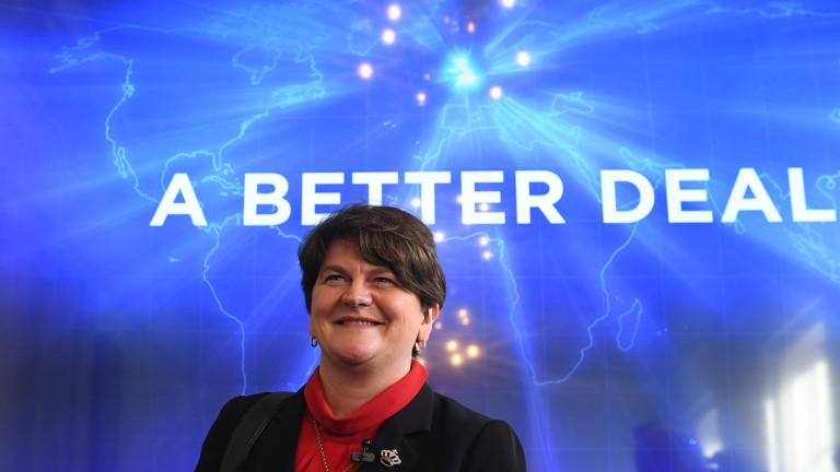 Коалиционните партньори на Тереза Мей я поляха със студен душ за Брекзит