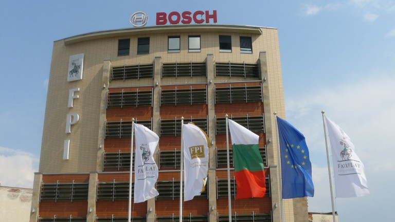 Международната група Bosch е генерирала оборот от 203 милиона лева