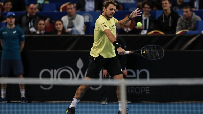 Швейцарецът Стан Вавринка победи Милош Раонич (Канада) с 6-4, 7-6(4)