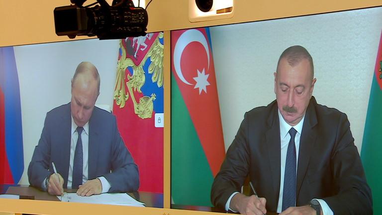 Основните точки от мирното споразумение за Нагорни Карабах