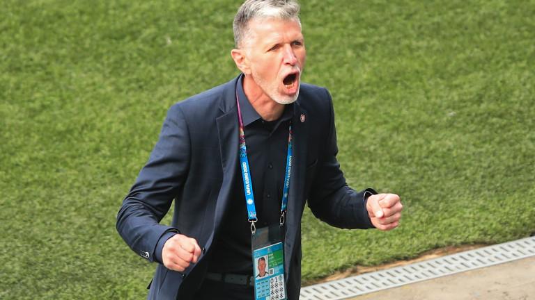 Треньорът на Чехия: Най-важното е, че оцеляхме при шотландския натиск