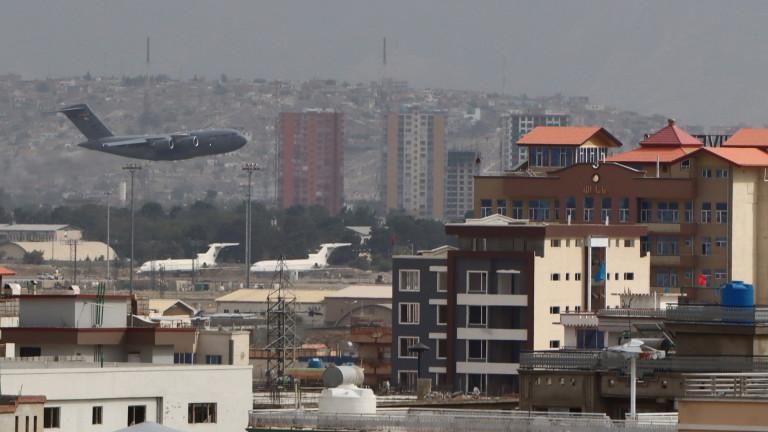 Основният щат на посолството на САЩ в Кабул напусна Афганистан