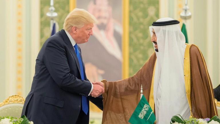 Саудитска Арабия купува от САЩ оръжия за 110 млрд. долара