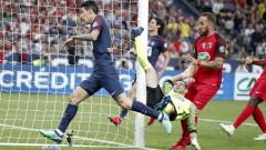 Анхел Ди Мария е щастлив, че не е преминал в Барселона