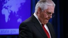 Тилърсън уволнен заради разногласия за Северна Корея