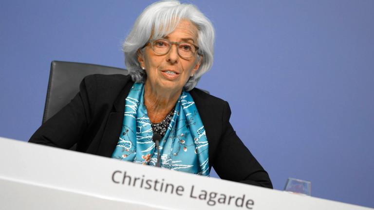 Лагард: Най-лошото от икономическата криза вероятно отмина