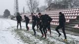 ЦСКА се готви за Септември под снега на ноември