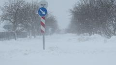Мъгла в Стара Загора, продължава да вали сняг